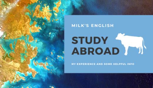 milk's english 語学留学