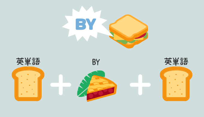 「~ずつ」の英語表現はパターンで覚えて一網打尽!名付けて【バイ・サンドイッチ】